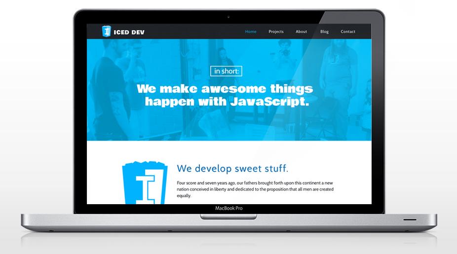 IcedDev Homepage