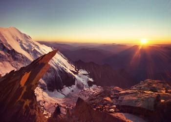 Mt. Blanc, Swiss Alps